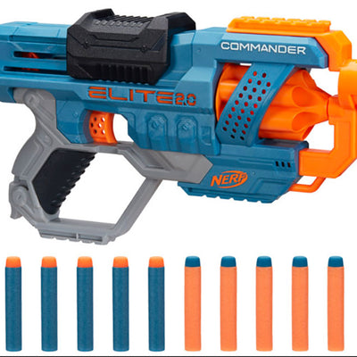WHOLESALE - NERF ELITE 2.0 COMMANDER RD 6 - PACK OF 4