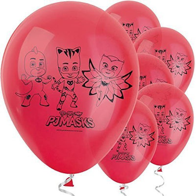 "PJ Masks Latex Balloons 11"" -10 pk"