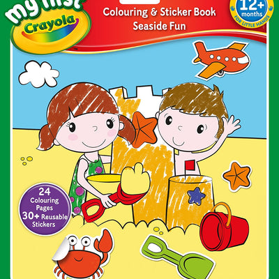 Wholesale Crayola Seaside Fun Sticker and Colour Book
