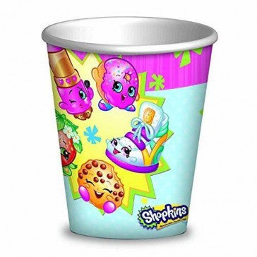 Shopkins Party Paper Cups Pack of 8