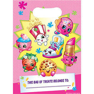 Shopkins Party Loot Bags Pack of 8