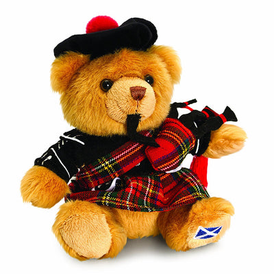 Scottish Piper Bear 15 cm By Keel Toys