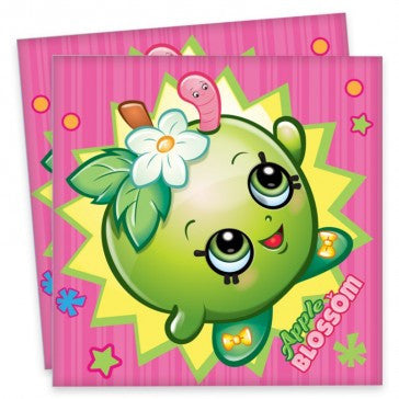 Shopkins Party Napkins Pack of 16