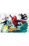 Marvel Spiderman Homecoming Children Party Plastic Tablecover- Pack of 1