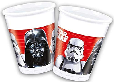 Stars Wars Last Jedi Villians Kids Party Paper Cup-Pack of 8