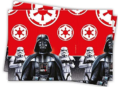 Stars Wars Last Jedi Villians Kids Party Plastic Table Cover-Pack of 1