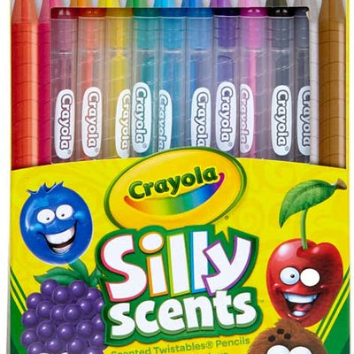 Crayola Silly Scents Twistables Coloured Pencils -Pack of 12