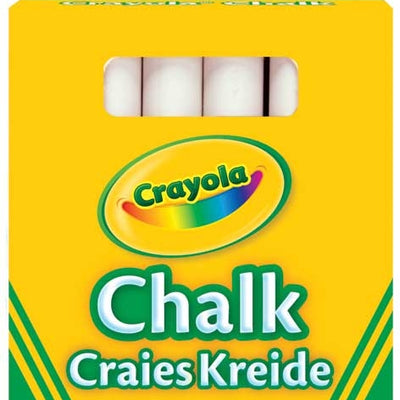 Crayola Anti Dust White Chalk Pack Of 12