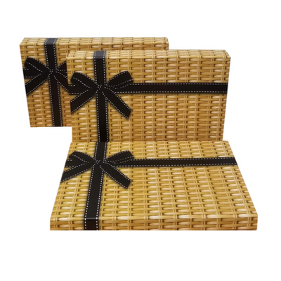 wicker style box