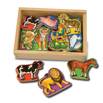 Wholesale Melissa & Doug 20 Wooden Animal Magnets
