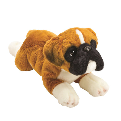 Yomiko Boxer Puppy Dog Plush - 13 Inch Medium
