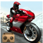 Racing VR application for vr headset