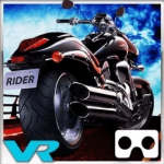 Highway Stunt VR application for virtual reality goggles