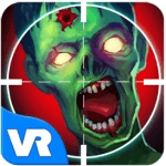 Shooter Zombie VR application for virtual reality headset