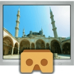 sites vr application for virtual reality headset