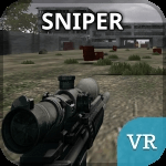 Sniper VR application for virtual reality goggles