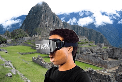 travel around the world with stark vr goggles