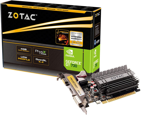 ZOTAC GeForce GT 730 Zone Edition Graphics Card ZT-71115-20L