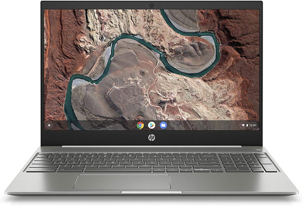 "HP CHROMEBOOK 15.6"" FHD TOUCH 4417U 4 64GB EMMC White/Mineral 15-de0010nr"