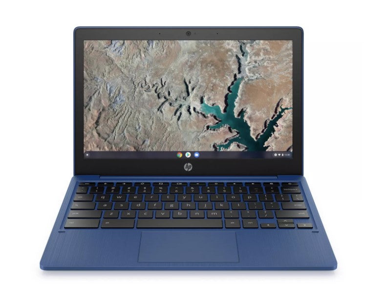 "HP Chromebook 11.6"" HD MediaTek MT8183 4 32 GB eMMC Indigo Blue 11a-na0030nr W10"