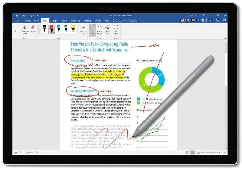 MICROSOFT SURFACE PEN - COBALT BLUE EYU-00017