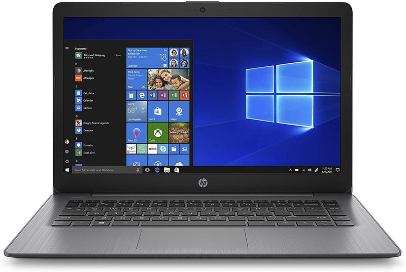 "HP Stream LAPTOP 14"" HD N4000 4 64 GB eMMC Brilliant BLACK 14-cb186nr"