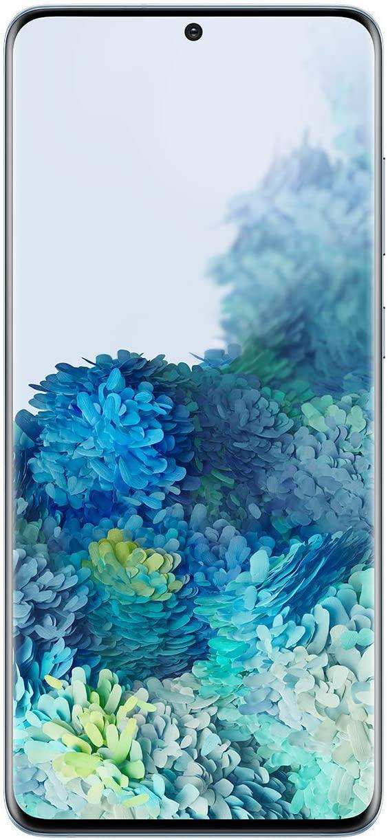 "Samsung Galaxy S20+ 5G 6.7"" 128GB Factory Unlocked Cloud Blue SM-G986ULBAXAA"
