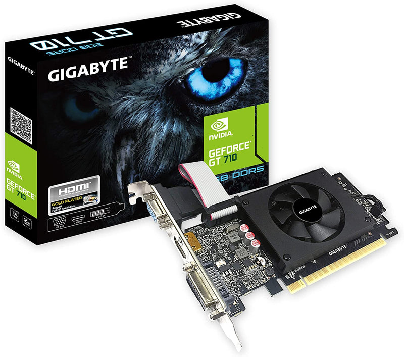 Gigabyte GeForce GT 710 2GB PCI Express 2.0 Gv-N710D5-2Gil Graphic Cards