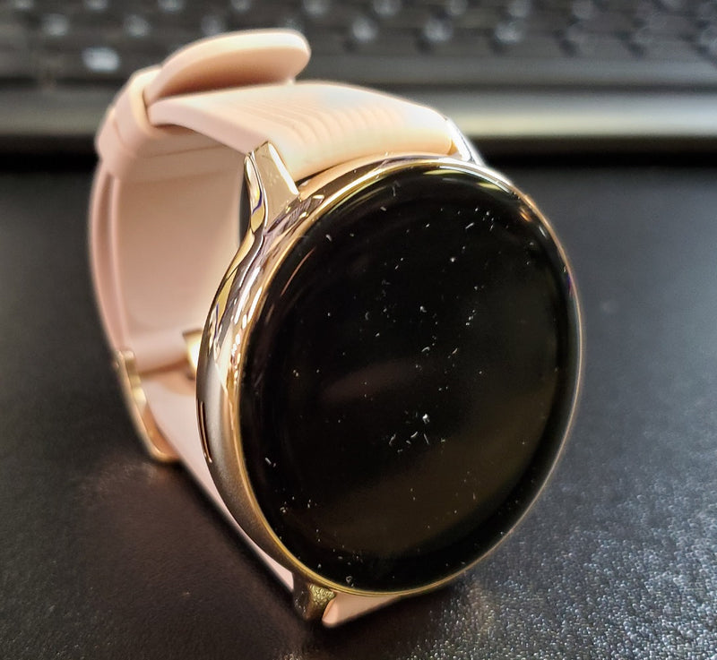 Samsung Galaxy Watch Active 2 SM-R825U 44mm Rose Silicone Band (LTE & GPS)