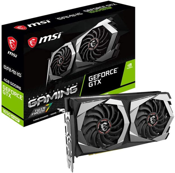 MSI Gaming GeForce GTX 1650 Super 4GB GDRR6 Card GTX 1650 Super Gaming X