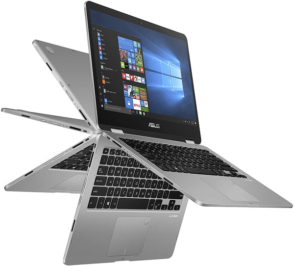"ASUS VivoBook 2in1 14""HD Touch N5030 4 128GB SSD FPR Grey TP401MA-AH21T WHOLESALE LOT QTY 500 UNITS BRAND NEW SEALED"