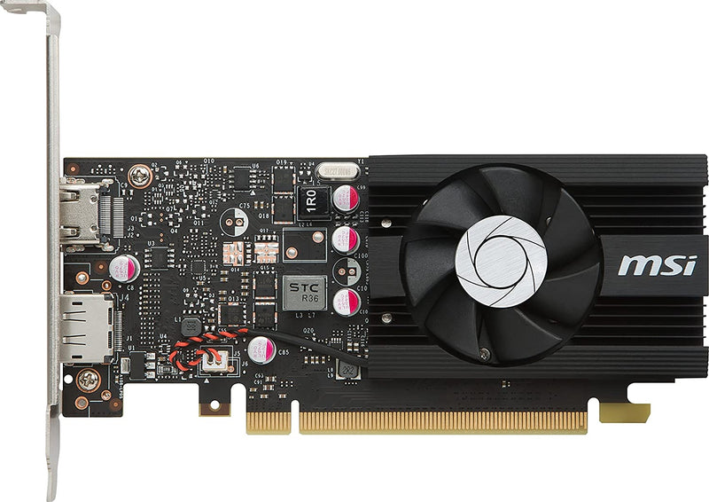 MSI Graphic Cards GeForce GT 1030 2G LP OC