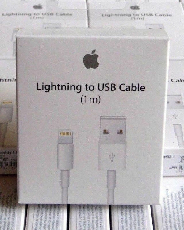 Genuine Apple Lightning Cable MD818AM/A Lightning to USB Cable Original (1M)