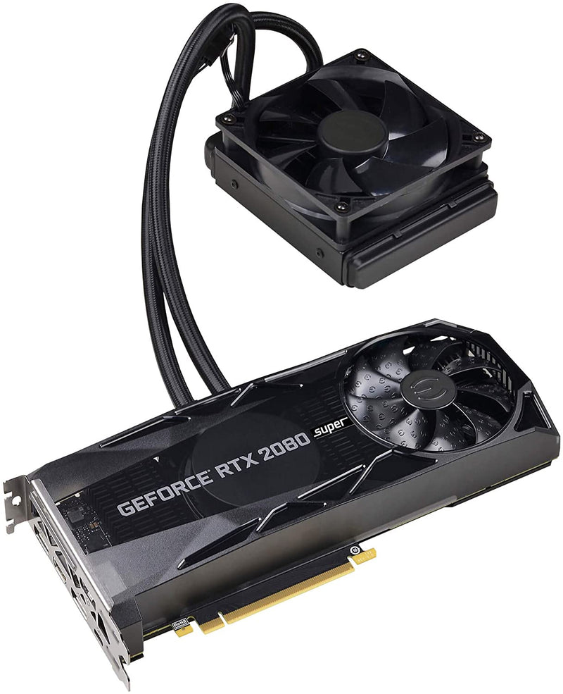 EVGA GeForce RTX 2080 Super Xc Hybrid Gaming 8GB GDDR6 08G-P4-3188-Kp