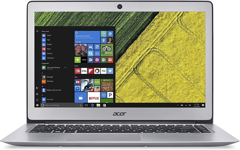 "Acer Swift 3 14""FHD Intel Core i5-7200U 8 256GB SSD FPR SILVER SF314-51-57CP"