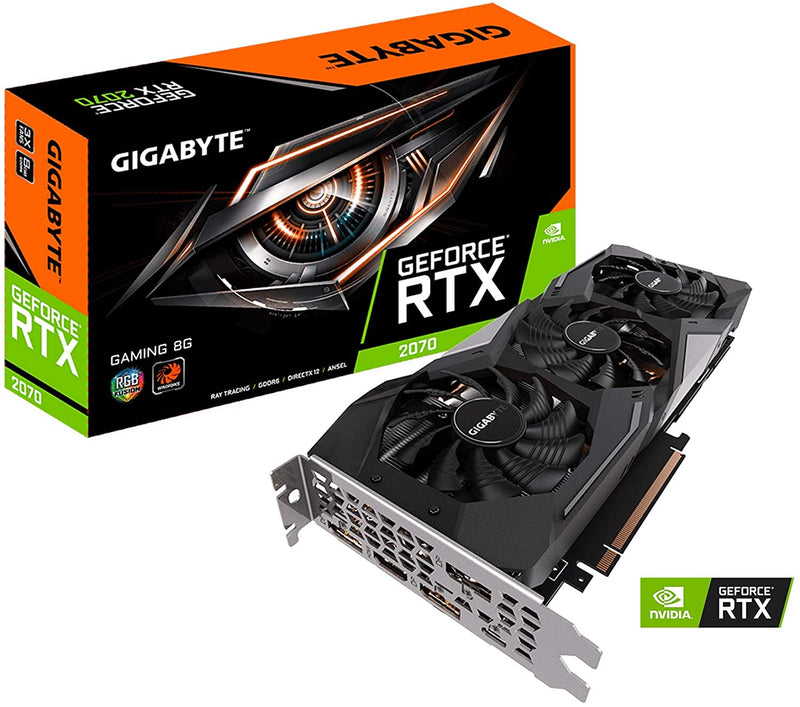 Gigabyte GeForce RTX 2070 GAMING 8GB GRAPHIC CARD GDDR6 GV-N2070GAMING-8GC