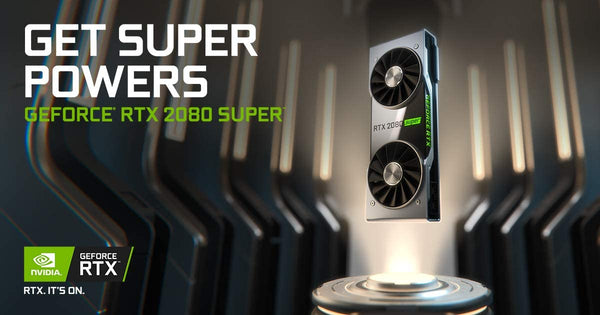 NVIDIA GeForce RTX 2080 Super Founders Edition Graphics Card 900-1G180-2540-000