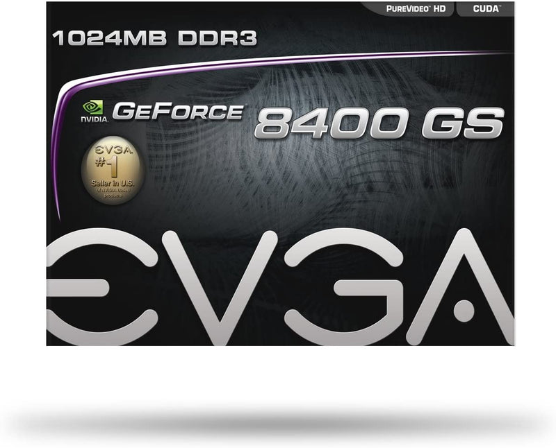 EVGA 1GB GeForce 8400 GS 64 Bit DDR3 GRAPHIC CARD 01G-P3-1302-LR