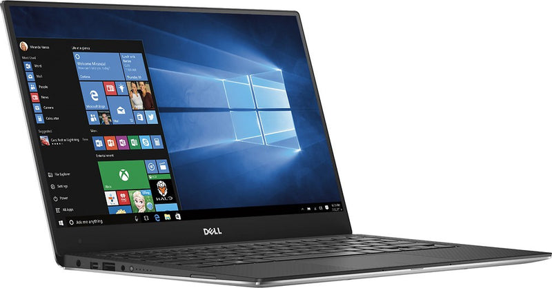 Dell XPS 13 9360 13.3-Inch Laptop FHD Non-touch i7-7500U 8GB RAM 128GB SSD Windows 10 Home