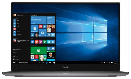 Dell XPS 15 9550 15.6-Inch Laptop UHD 4K Touch i5-6300HQ 8GB RAM 1TB HDD + 32GB SSD Windows 10 Home
