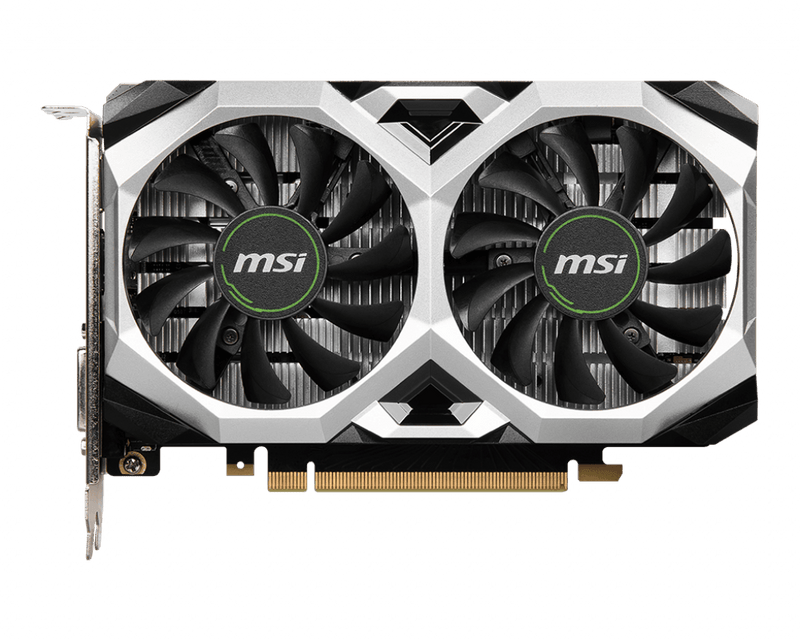MSI Gaming GeForce GTX 1650 128-Bit 4GB GDRR6 GTX 1650 D6 Ventus XS OCV1