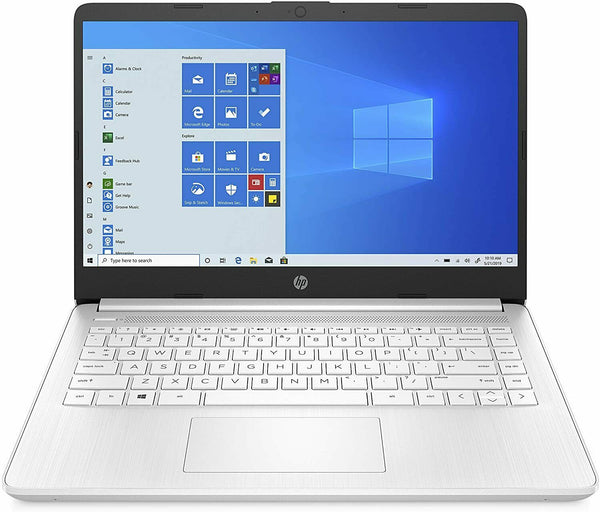 "HP LAPTOP 14""HD AMD 3020E 4 64GB eMMC Snowflake White 14-fq0070nr W10"