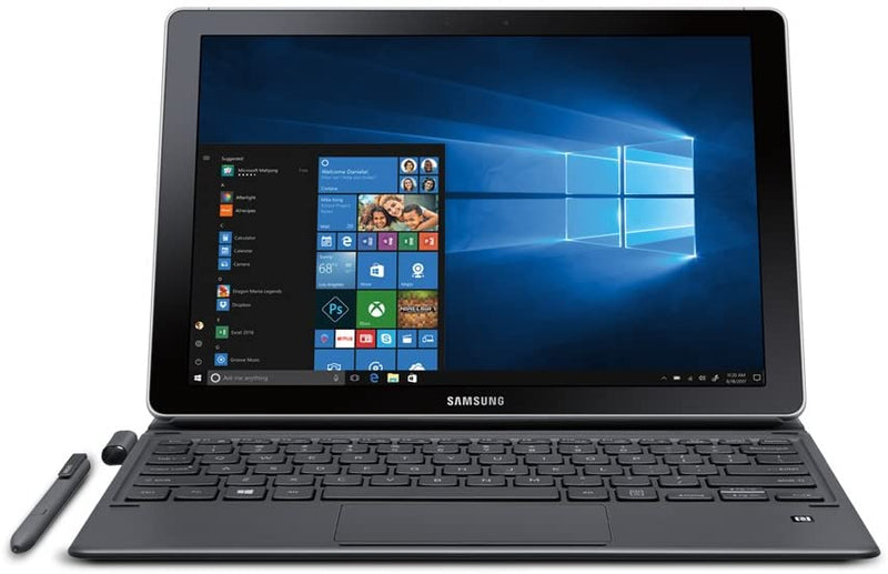 "SAMSUNG GALAXY BOOK 12"" 2160x1440 TOUCH i5-7200U 4 128GB SSD SM-W727VZKB"