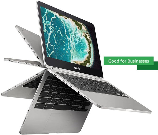 "ASUS Chromebook 2-in-1 12.5""FHD Touch M5-6Y54 4 64GB eMMC Silver C302CA-DH54"