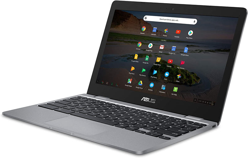 "ASUS Chromebook C223 11.6"" HD Celeron N3350 4 32GB eMMC Grey C223NA-DH02 W10"