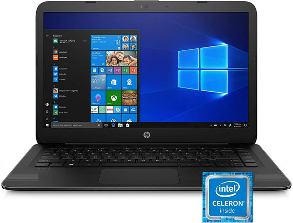 "HP STREAM 14""HD N4000 4 64GB eMMC JET BLACK 14-cb159nr"