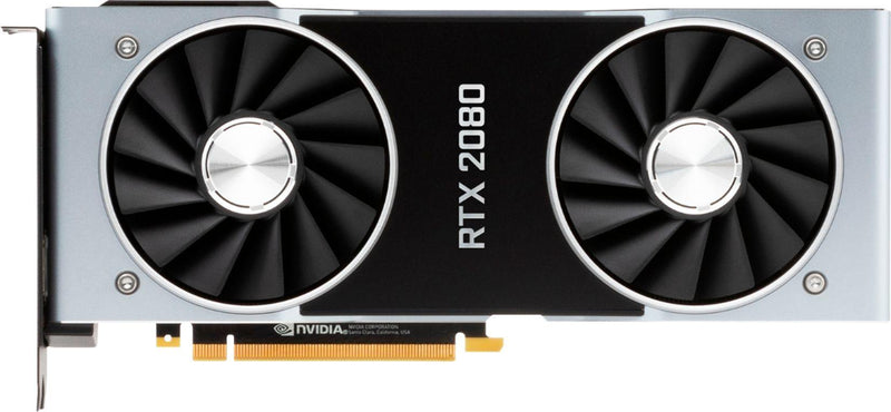 NVIDIA GeForce RTX 2080 Founders Graphics Card 900-1G180-2500-000