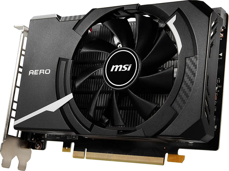 MSI Gaming GeForce GTX 1650 4GB GDRR6 GTX 1650 D6 AERO ITX OCV1 Graphics Card