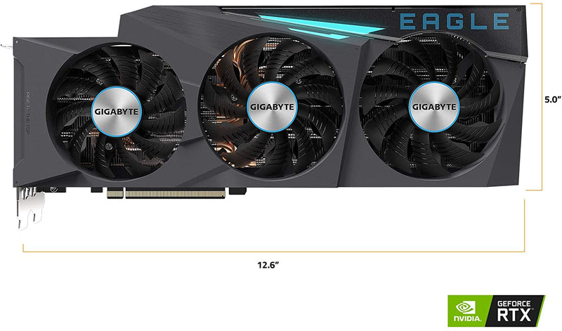 GIGABYTE GeForce RTX 3080 Eagle 10G GV-N3080EAGLE-10GD Graphics Card