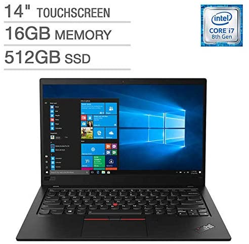LENOVO THINKPAD X1 CARBON 14 FHD TOUCH i7-8565U 16 512GB SSD 20QD0000US